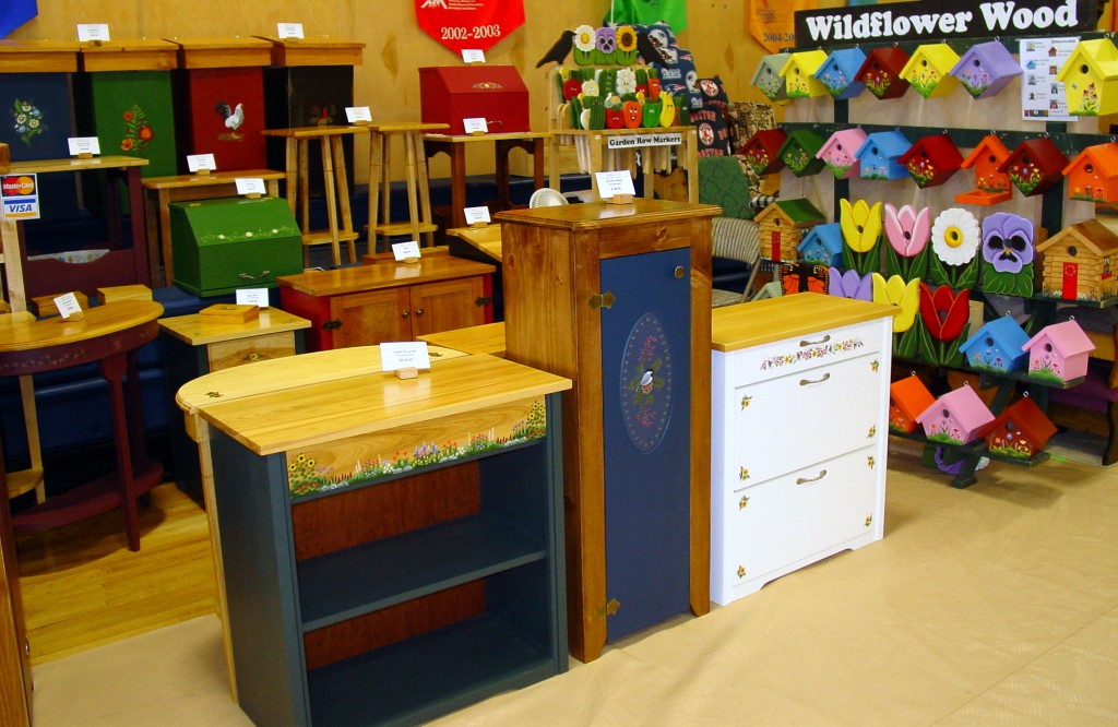 Wildflower Wood's booth