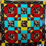 Hole in the Barn Door quilt top