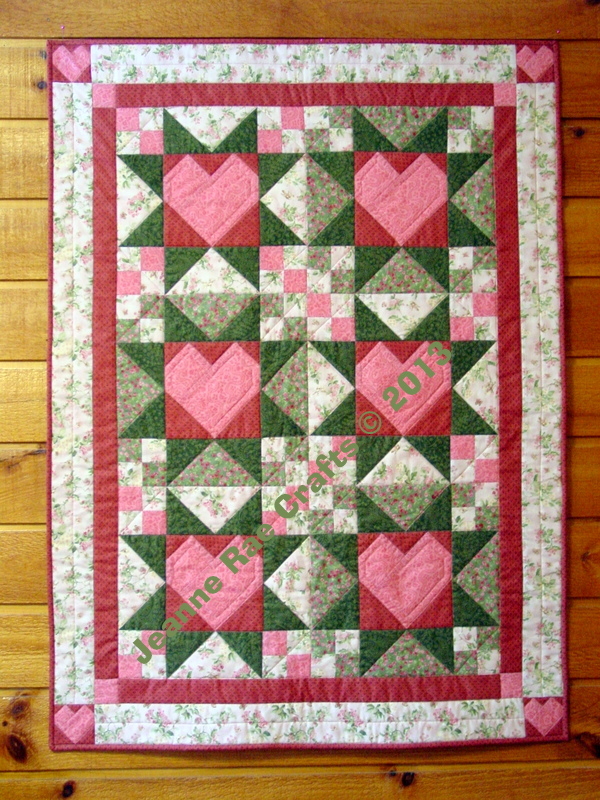 Star of My Heart quilt