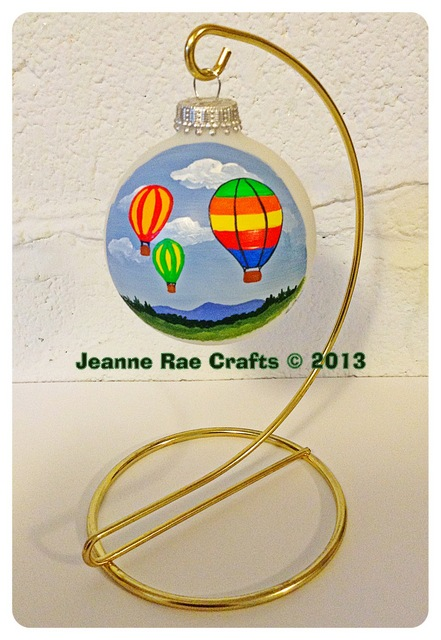 Balloon festival ornament