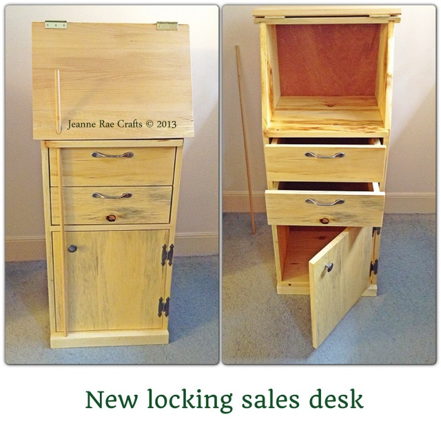 Sales desk by Bill Prue