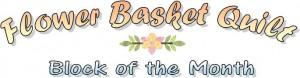 Flower Basket Quilt logo