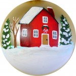 New House ornament from Jeanne Rae Crafts