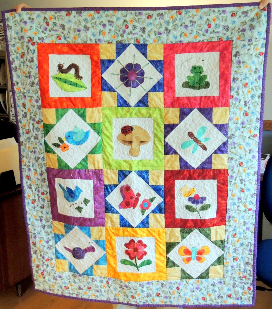 Pixie Garden Quilt by Sue